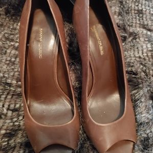 Banana Republic open-toe heels